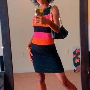 Stripe Color Block Dress
